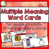 Multiple Meaning Word Picture Cards