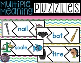 Multiple Meaning Words Puzzles