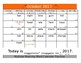 Multiple Meaning Word School Calendar