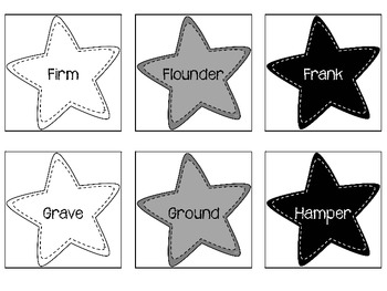Multiple Meaning Word Stars Level 4