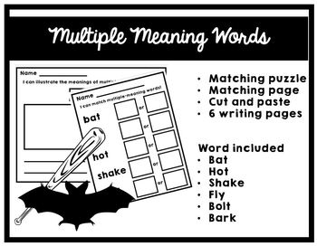 Multiple Meaning Words!