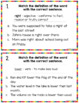 Multiple Meaning Words Anchor Charts and Task Cards