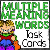 Multiple Meaning Words Task Cards for Grades 2 and 3