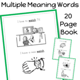 Multiple Meaning Words Book