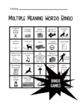 Multiple Meaning Words Activities Bundle