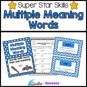 Multiple Meaning Words: Ass... by Mercedes Hutchens | Teachers Pay ...
