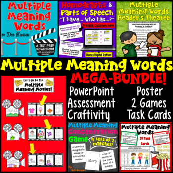 Multiple Meaning Words: A Bundle of Activities
