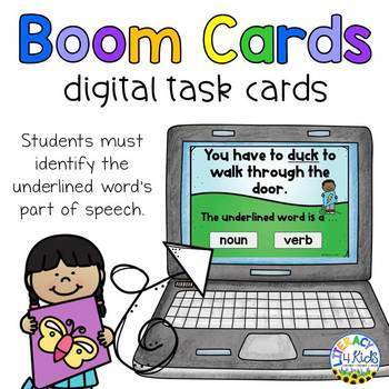 Multiple Meaning Words Boom Cards (Digital Task Cards) for 2nd and 3rd Graders