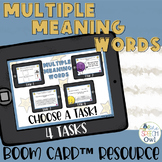 Multiple Meaning Words Boom Cards™   Distance Learning