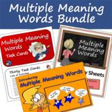 Multiple Meaning Words Bundle