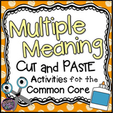 Multiple Meaning Words (Homographs)