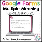 Multiple Meaning Words: Digital Task Cards