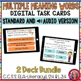 Multiple Meaning Words- Homonym Boom Cards