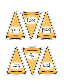 Multiple Meaning Words - Ice Cream Scoop