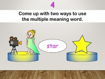 Multiple Meaning Words Interactive PowerPoint