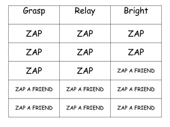Multiple Meaning Words Intervention Activity