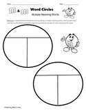 Multiple Meaning Words: M & M Word Circles