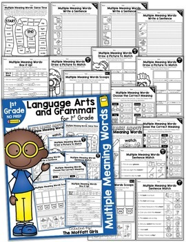 Multiple Meaning Words NO PREP Packet