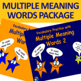 Multiple Meaning Words Package