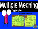Spanish Multiple Meaning Words/Palabras con Varios Significados