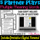 Multiple Meaning Words: Partner Plays
