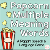 Multiple Meaning Words Popcorn Game