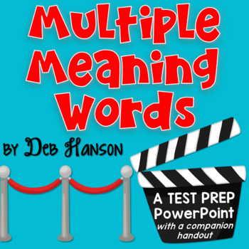 Multiple Meaning Words PowerPoint