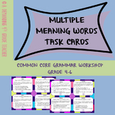 Multiple Meaning Words PDF & Digital Activity for Distance