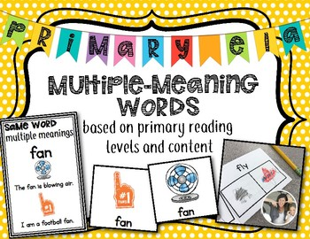 Multiple Meaning Words {Primary}