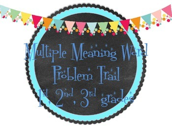 Multiple Meaning Words Problem Trail
