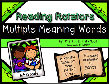 Multiple Meaning Words Review Game for Your Entire Class - 1st Grade
