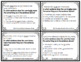 Multiple Meaning Words SAT-10 Task Cards