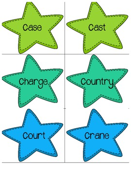 Multiple Meaning Words Stars Combo Pack