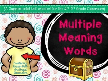 Multiple Meaning Words Supplemental Unit