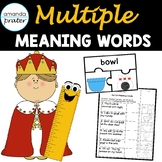 Multiple Meaning Words Worksheets and Puzzle Activity
