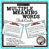 Multiple Meaning Words with Dictionary Entries