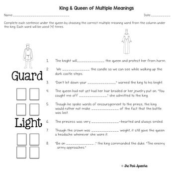 Multiple Meanings | Speech and Language Resource