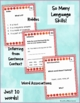 Homonyms: Multiple Meaning C Vocabulary Task Cards- Thinking & Inferring