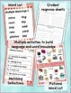 Homonyms: Multiple Meaning Vocabulary Task Cards- Definitions