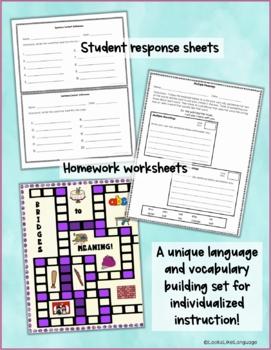 Homonyms Set 4 Applying Multiple Meanings Task Cards