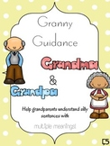 Multiple Meanings Game - Granny Guidance | Includes Baseli
