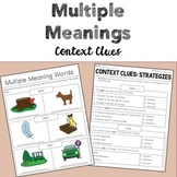Multiple Meanings (Homonyms) Context Clues
