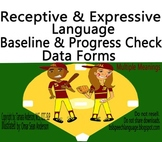 Multiple Meanings Vocabulary Baseline & Progress Check Data Forms