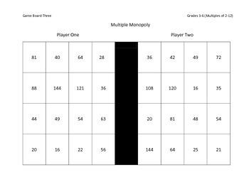Multiple Monopoly - Grades 3-6