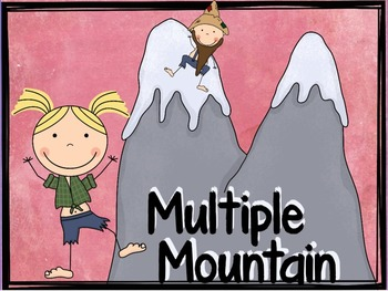 "Factors and Multiples ""Finding Multiples Activity"" (Multiple Mountain)"