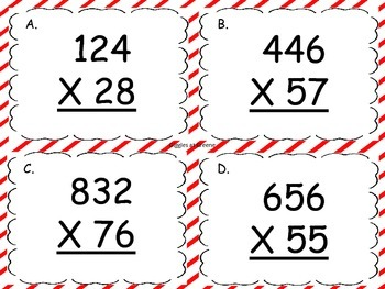 Multiple Multiplication Scoot