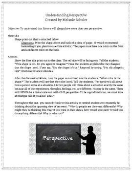 Multiple Perspective Activity