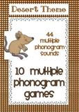 Multiple Phonogram Games - Desert