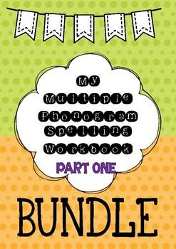Multiple Phonogram Spelling Workbook BUNDLE