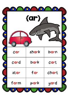Multiple Phonogram Spelling Workbook - ar